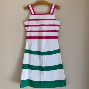 NEW Oscar de la Renta Girls Pique Ribbon Dress 12